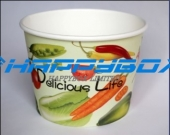 520CC 16 OZ Frozen yogurt Paper Cup